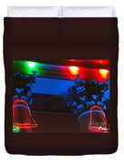 Holiday Lights 2012 Denver City And County Building M1 Duvet Cover