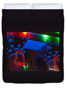 Holiday Lights 2012 Denver City And County Building M3 Duvet Cover