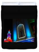 Holiday Lights 2012 Denver City And County Building N2 Duvet Cover