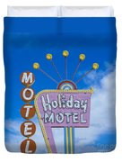 Holiday Motel Duvet Cover