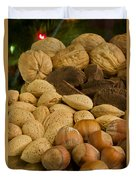 Holiday Nuts Duvet Cover