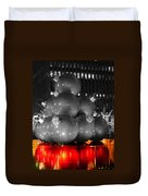 Holiday Reflection Duvet Cover