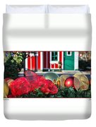 Holiday Reflections Duvet Cover