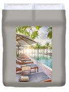 Holiday Resort Duvet Cover