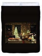 Holiday Sleigh Hsp Duvet Cover by Jim Brage