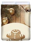Holiday Treats Duvet Cover