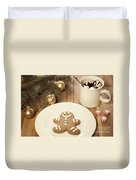 Holiday Treats Duvet Cover by Juli Scalzi