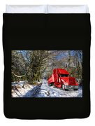 Holidays Are Coming  Duvet Cover