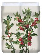 Holly Duvet Cover by Alice Bailly
