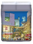 Hollywood And Highland Center Hoillywood Ca  Duvet Cover