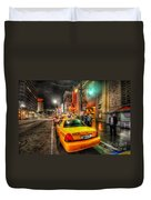Hollywood Boulevard Duvet Cover