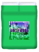 Hollywood Day And Night Duvet Cover
