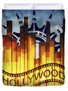 Hollywood Gold Duvet Cover