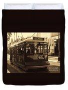 Hollywood Trolley Duvet Cover