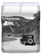 Hollywoodland Duvet Cover