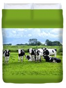 Holstein Heaven Duvet Cover