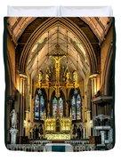 Holy Cross Duvet Cover