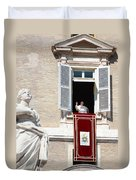 Holy Father Duvet Cover