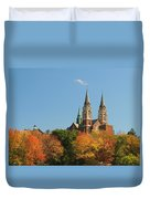 Holy Hill In Living Color Duvet Cover