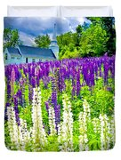 Holy Lupines Duvet Cover