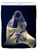Holy Mother And Child Abstract II Duvet Cover