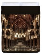 Holy Name Cathedral Duvet Cover