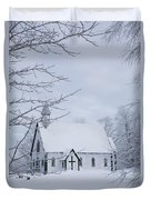 Holy Trinity Anglican Church And Duvet Cover