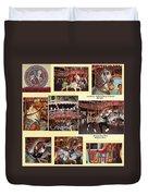 Holyoke Carousel Collage Duvet Cover