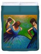 Homage To Degas II Duvet Cover