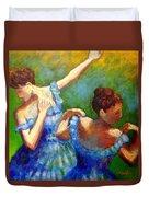 Homage To Degas Duvet Cover