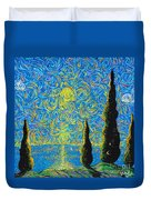 Homage To The Sun Duvet Cover