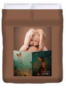 Home For A Bunny 1 Duvet Cover