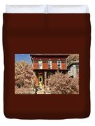 Home For The Fall  Duvet Cover