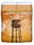 Home Of The Pilot Point Bearcats Duvet Cover