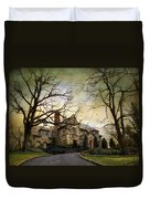 Home On A Hill Duvet Cover