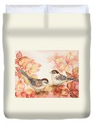 Home Sparrows Duvet Cover