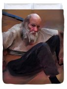 Homeless 3 - A Place To Rest Duvet Cover