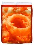 Homemade Onion Rings Duvet Cover
