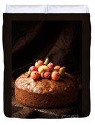 Homemade Rich Fruit Cake Duvet Cover