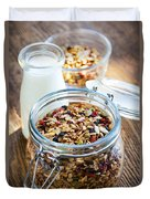 Homemade Toasted Granola Duvet Cover