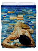 Homenaje A Paul Klee Duvet Cover