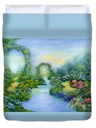Homeward Journey Duvet Cover by Hannibal Mane