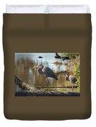 Homosassa Springs Waterfowl 8 Duvet Cover
