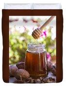 Honey Duvet Cover