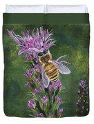 Honeybee On Liatis Duvet Cover