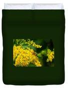 Honeybee On Yellow Duvet Cover