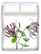 Honeysuckle Blossom Duvet Cover