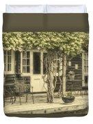 Honeysuckle Cottage Duvet Cover