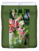 Honeysuckle With Keyhole Duvet Cover