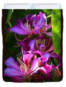 Hong Kong Orchid Duvet Cover